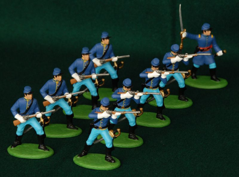 54 ACW P02  US Dragoons (Dismounted)