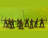 60 HYW 01 B ENGLISH ARCHERS & BILLMEN