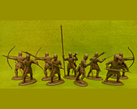 60 HYW 01 W FRENCH ARCHERS & BILLMEN