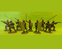 60B HYW 02 B ENGLISH CROSSBOWMEN & PAVISIERS