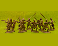 60 HYW 02 W FRENCH CROSSBOWMEN & PAVISIERS