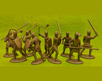 60 HYW 03 W FRENCH DISMOUNTED MEN-AT-ARMS & ARMATI