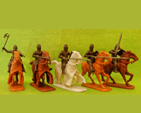 60 HYW 06 B ENGLISH KNIGHTS & MEN-AT-ARMS