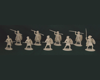 60 GRK 04 W Sacred Band / Spartans (White)
