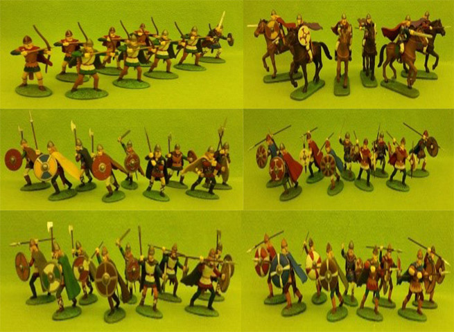 Painted 40 mm Dark Ages