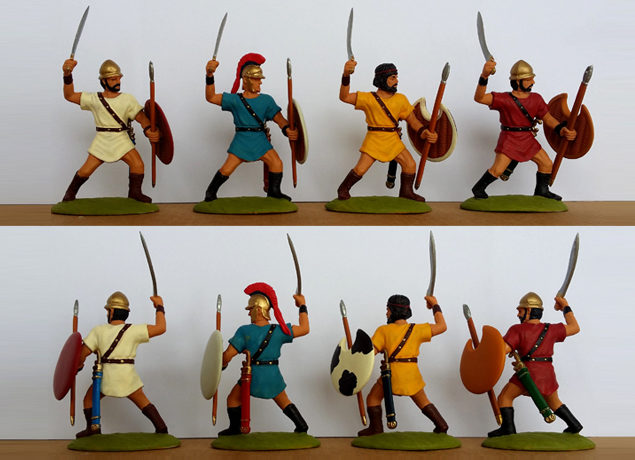 P-60 GRK Peltasts-Thracian (+ 2 right-arms provided per model)