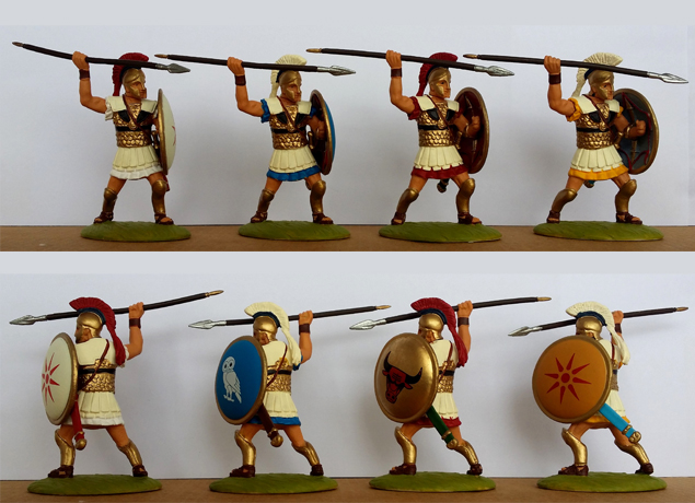 P-60 GRK Hoplites-Corinthian (+ painted shield)