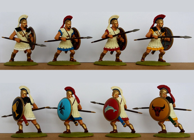 P-60 GRK Hoplites-Chalcidian (+ painted shield)