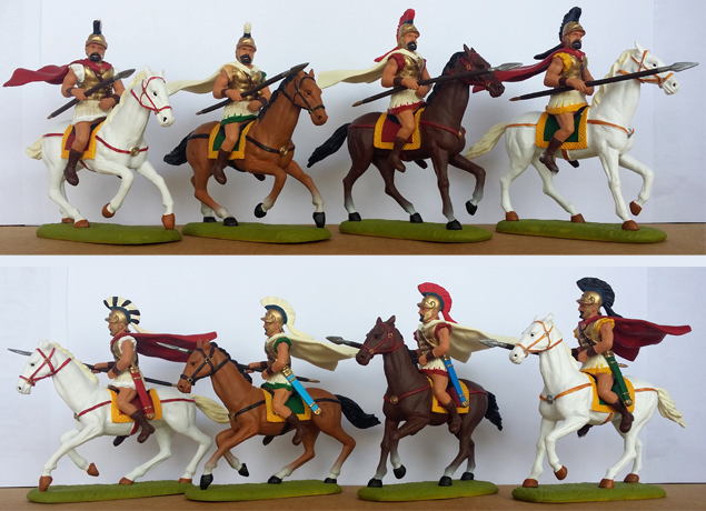 P-60 GRK Cavalry-Thessalian (+ 2 right-arms provided per model)