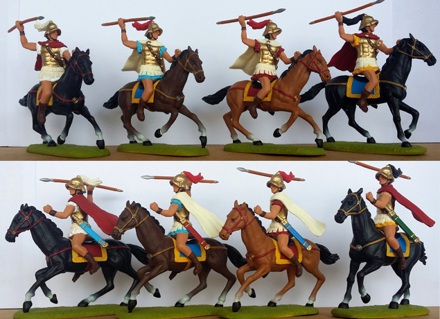 P-60 GRK Cavalry-Boiotian (+ 2 right-arms provided per model)