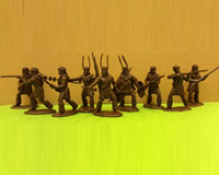 54 ZUL 04	Zulu with rifles (incl. Zulu Officers)