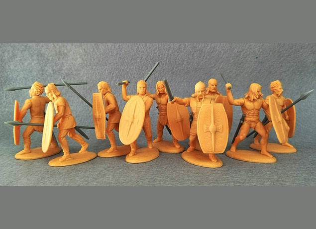 60mm Celtic Barbarians