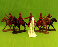 54 ZBR 02–P 		British Cavalry in Plain Sun-Helmets
