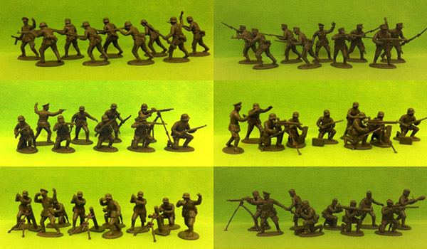 60mm WW2 Germans
