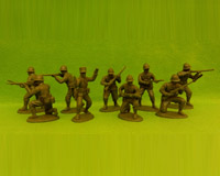 60F WW2-AMC 02 FF Rifles-Defence Section(Free French Helmets)