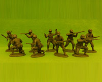 60P WW2-AMC 02 PH Rifles-Defence Section(Plain Helmets)
